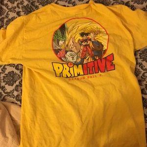 Primitive dragon ball z graphic t shirt